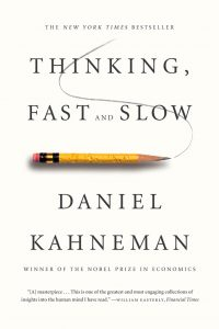 Thinking Fast and Slow voorkant